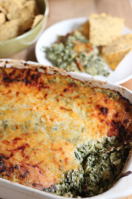 Skinny Spinach and Artichoke Dip | Eat Good 4 Life