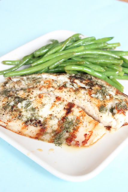 Grilled Dill Tilapia