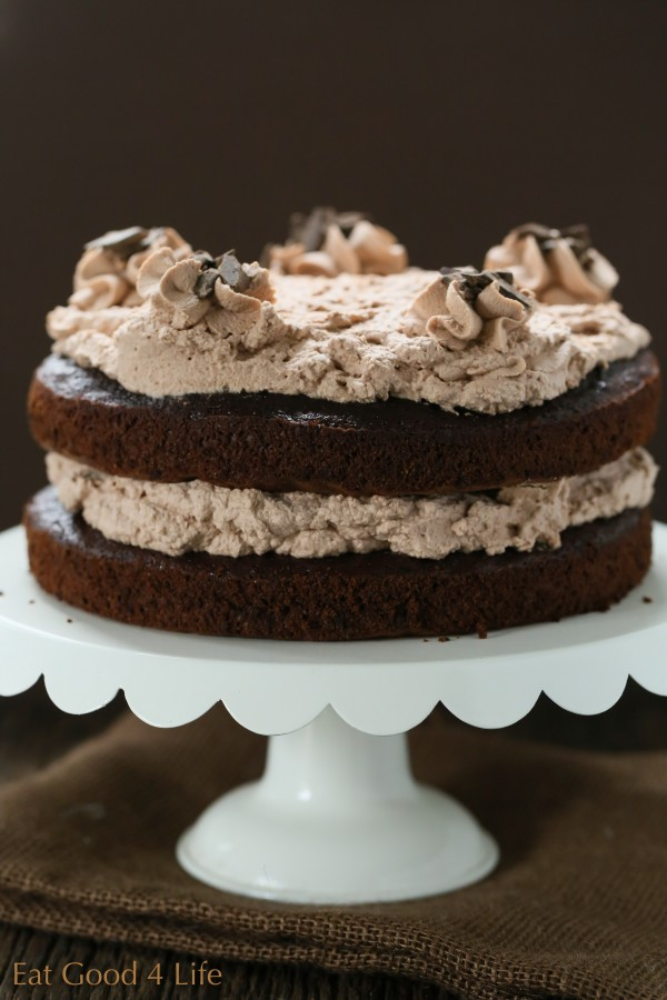 Chocolate mousse cake | Eat Good 4 Life