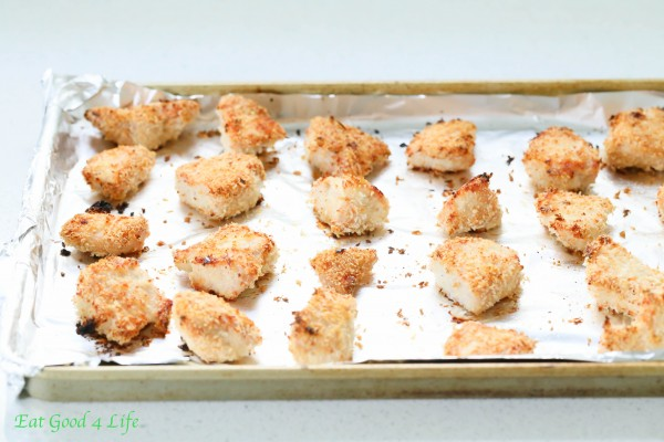 Panko baked chicken nuggets | Eat Good 4 Life
