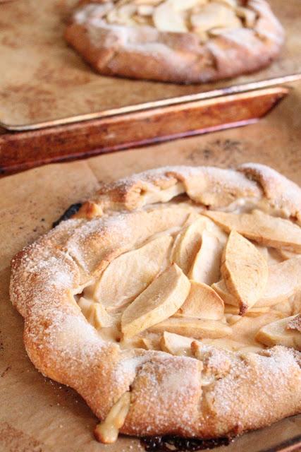 Rustic Apple Danish Crostata