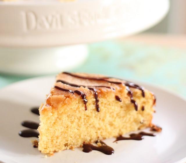Corn meal cake