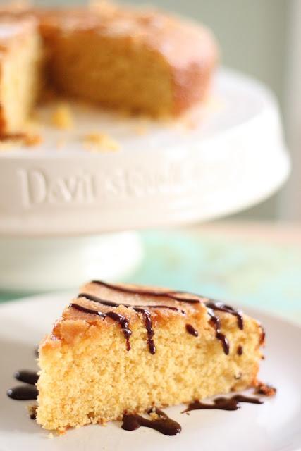 Honey and Orange Cornmeal Cake | Eat Good 4 Life