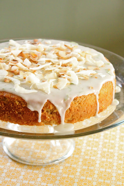 Coconut and lime cake from eatgood4life.com