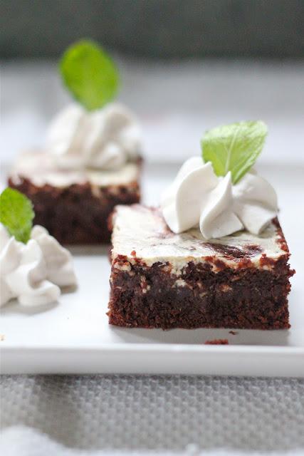 irish cream cheese brownies