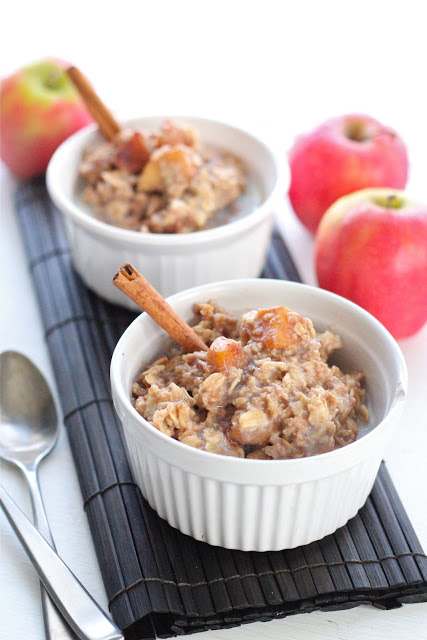 Apple pie oatmeal | Eat Good 4 Life
