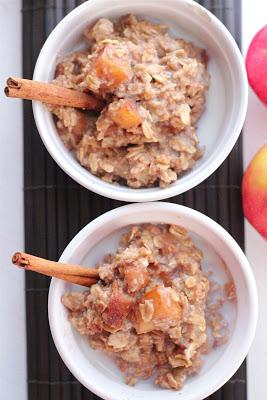 Apple pie oatmeal   Eat Good 4 Life