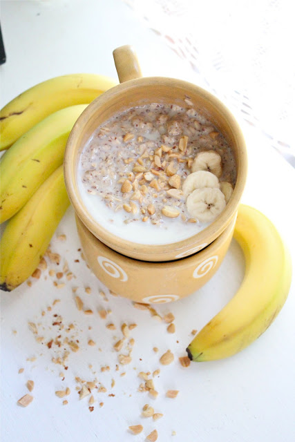Peanut butter and banana oatmeal from eatgood4life.com