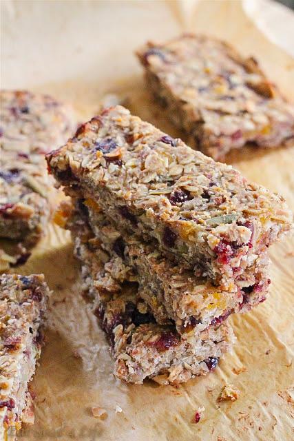 Granola banana bars-gluten free, vegan