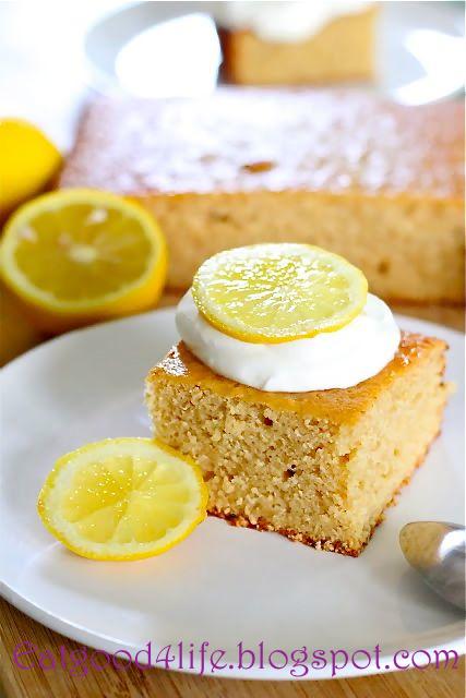 lemonade cake from eatgood4life.com