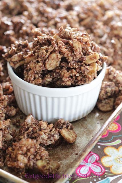 No bake granola from eatgood4life.com