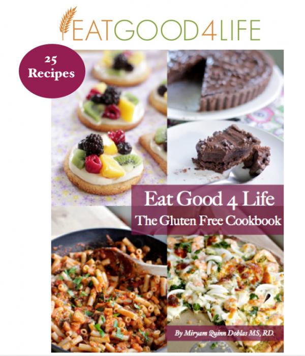 Eat Good 4 Life gluten free cookbook