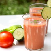 Spanish gazpacho. EatGood4Life.com