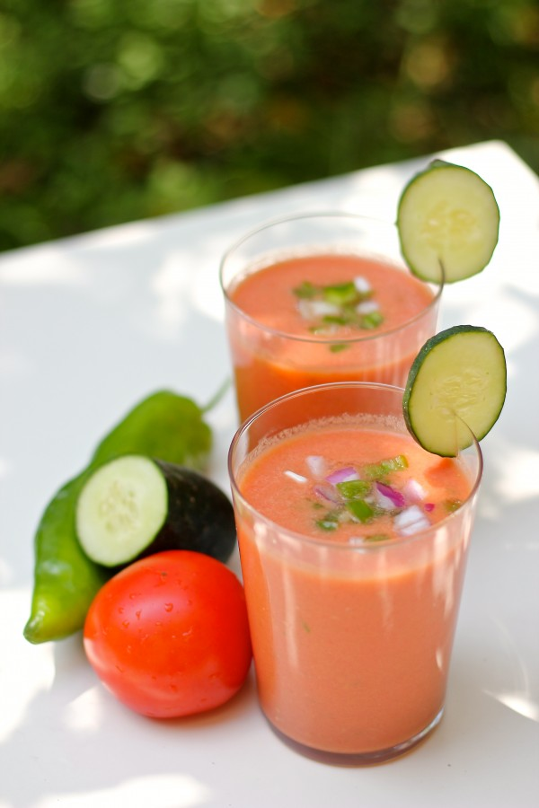 Spanish gazpacho is another very typical recipe in Spain. Together ...