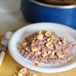 Nutella oatmeal: Eatgood4life.com