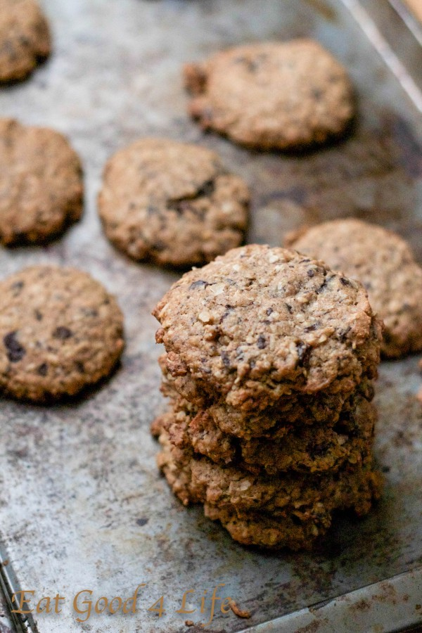 Oatmeal and chocolate cookies: Eatgood4life.com