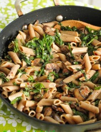 Creamy mushroom pasta | Eat Good 4 Life