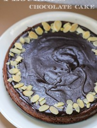 Flourless chocolate cake: Eatgood4life.com