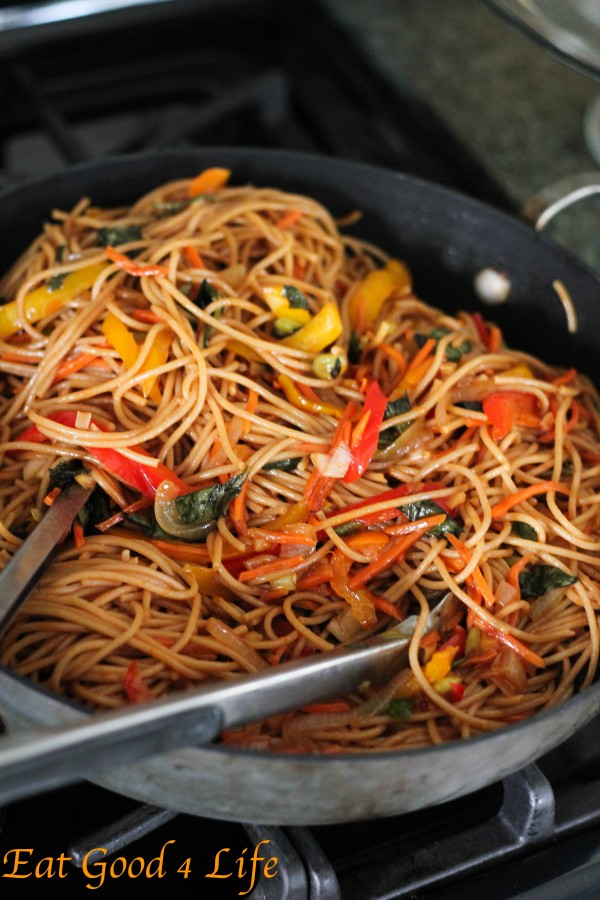 Vegetable Lo Mein Recipe — Dishmaps