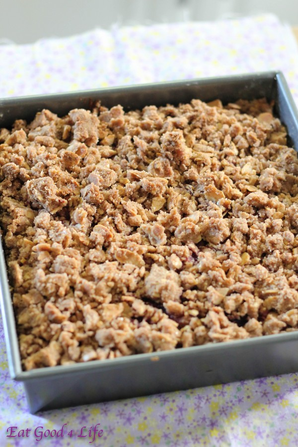 Gluten free almond and raspeberry coffeec cake jp2: Eatgood4life.com