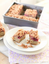 Gluten free almond and raspeberry coffeec cake jpg3: Eatgood4life.com