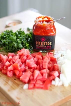 Harissa Moroccan meatballs8: Eatgood4life.com