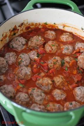 Harissa Moroccan meatballs2: Eatgood4life.com