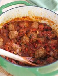 Harissa Moroccan meatballs: Eatgood4life.com