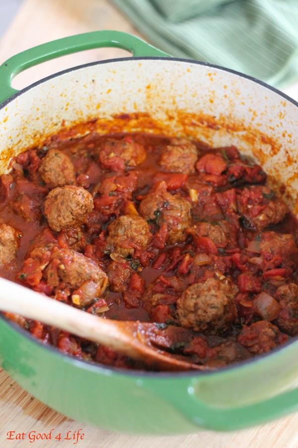 Harissa Moroccan meatballs