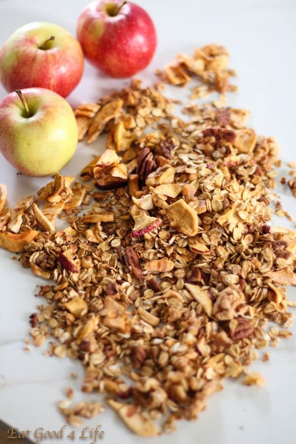 apple granola