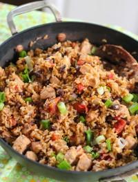 No-fuss black bean, chicken and ricejpg4: Eatgood4life.com