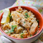 Slow cooker Caribbean peanut chicken3: Eatgood4lfie.com