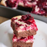 Cranberry cheesecake browniesjpeg: Eatgood4life.com