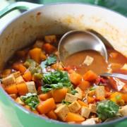 Thai curry pumpkin soup1: Eatgood4life.com