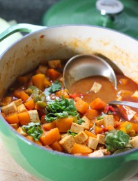 Thai curry pumpkin soup1: Eatgood4life.com