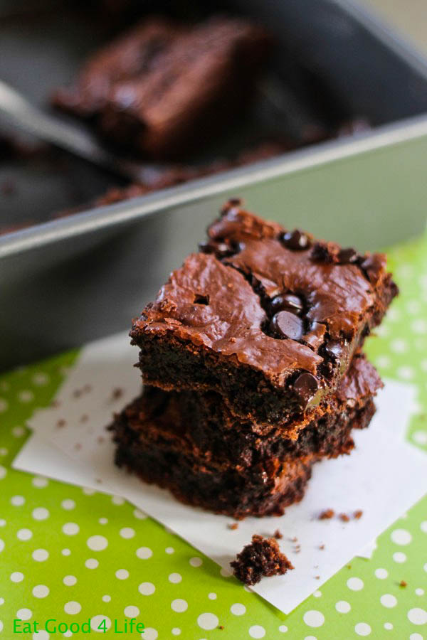 The best gluten free brownies from eatgood4life.com