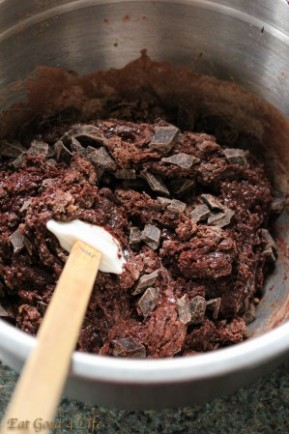 Gluten free double chocolate chunk cookies:eatgood4life.com