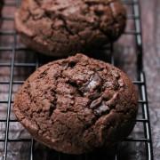 Gluten free double chocolate chunk cookies jpeg:Eatgood4life.com