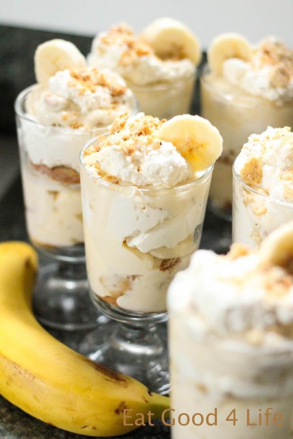 Banana pudding from eatgood4life