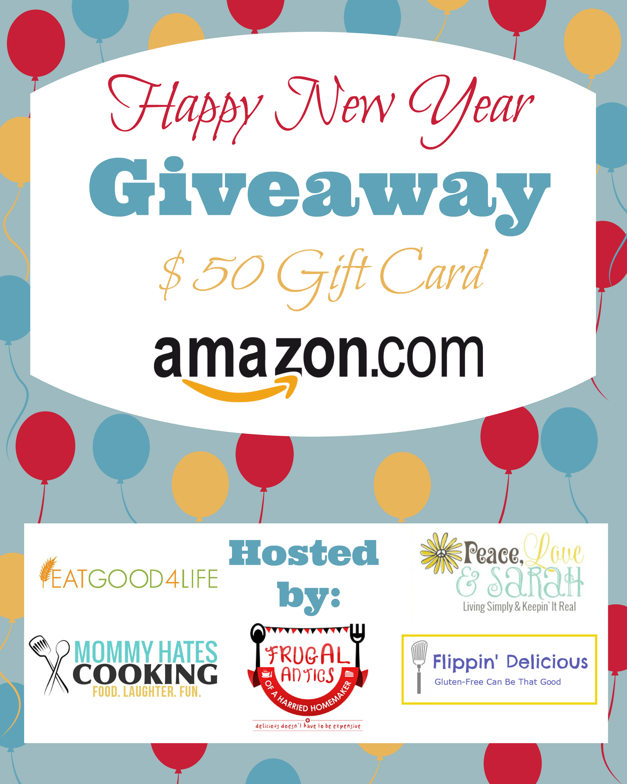 $50 Amazon gift card giveaway | Eat Good 4 Life