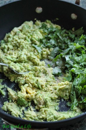 Avocado, lime and cilantro rice from eatgood4life
