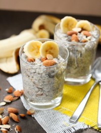 banana chia seed pudding from eatgood4life.com
