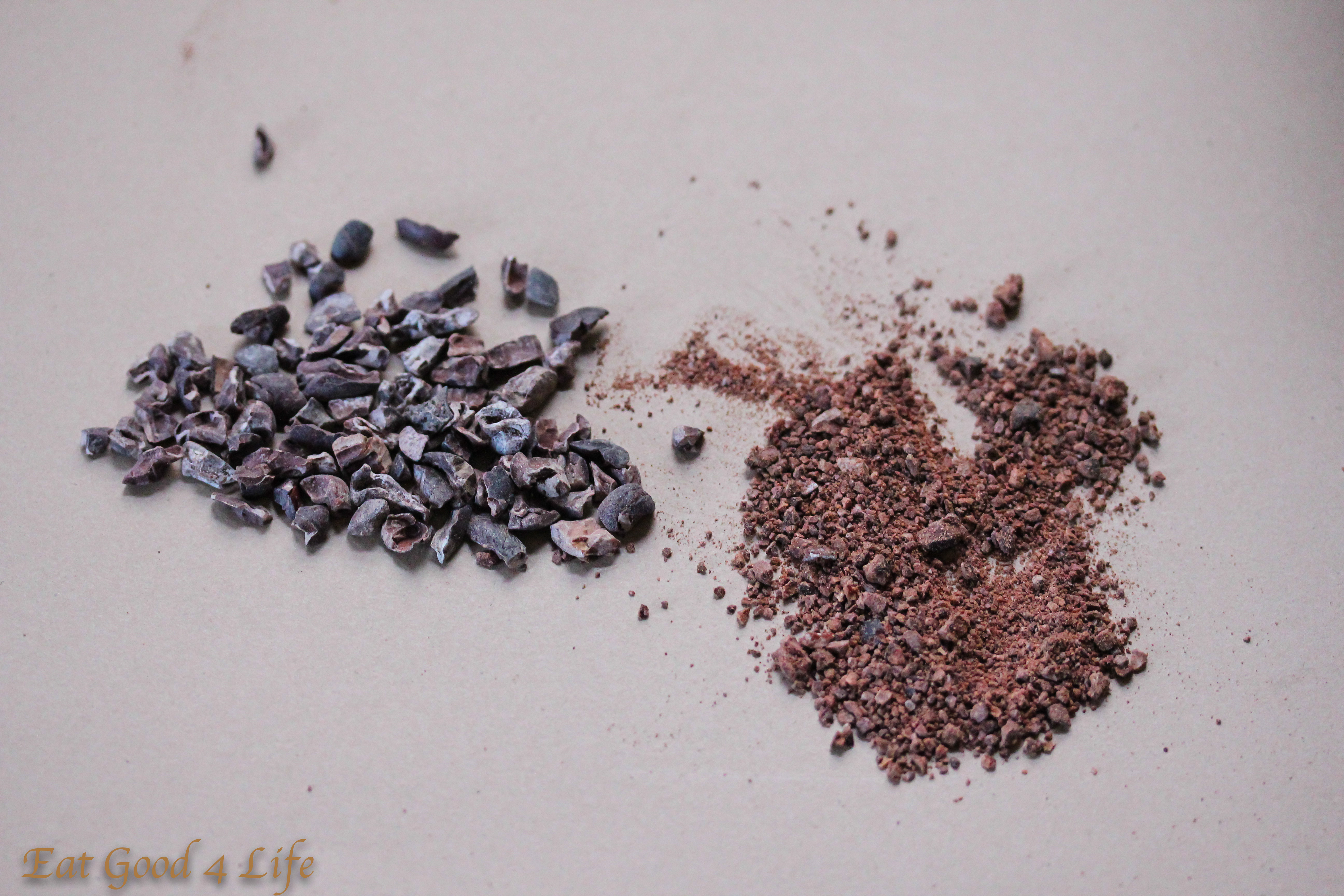 coffee and chocolate chia seed pudding