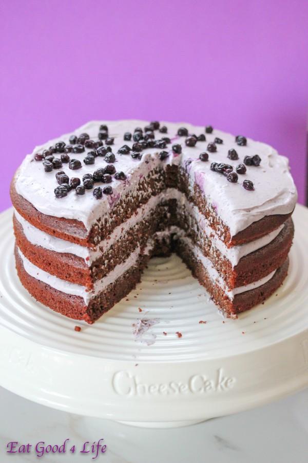 Quino chocolate cake