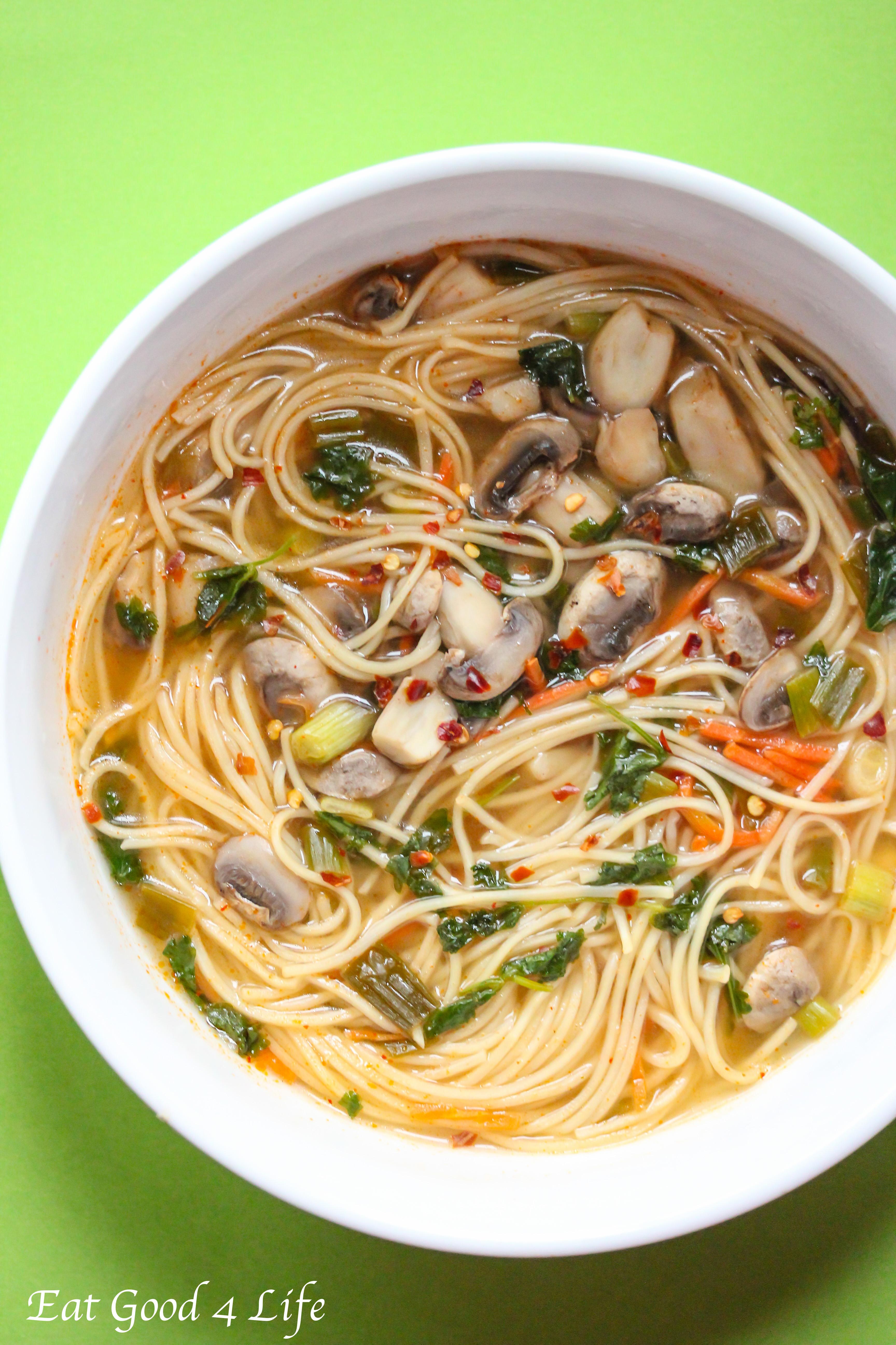 Spicy Thai Noodle Soup Thai Noodle Soup