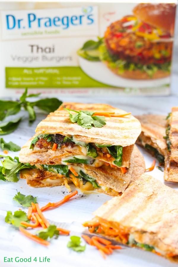 thai quesadillas