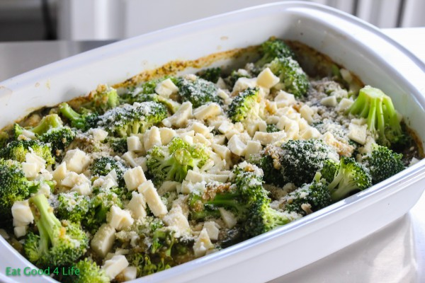 Broccoli and quinoa casserole