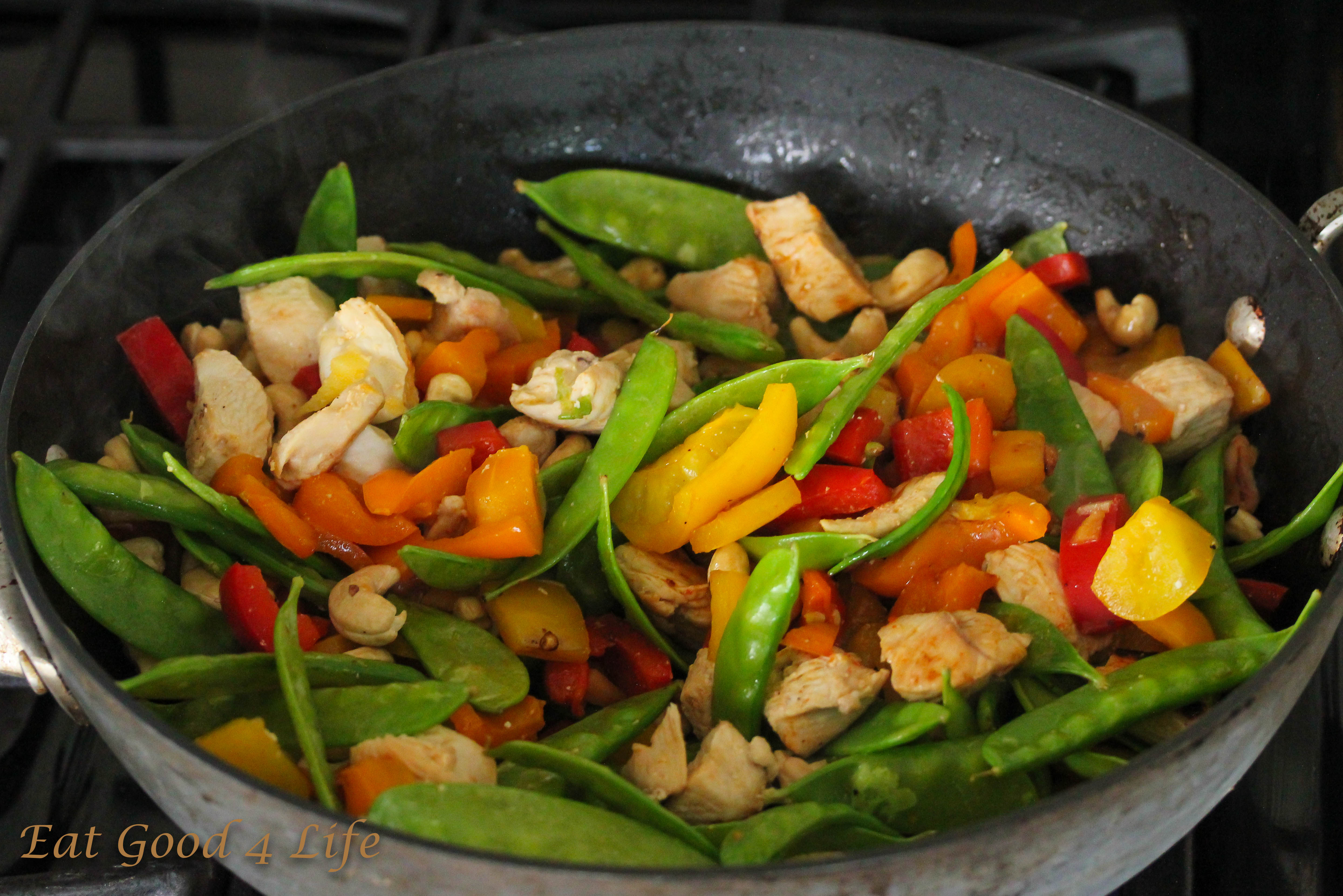 Anyhow, I was still able to post this Kung Pao Chicken recipe for you ...