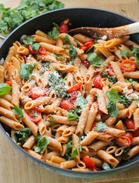 fired roasted tomato pasta