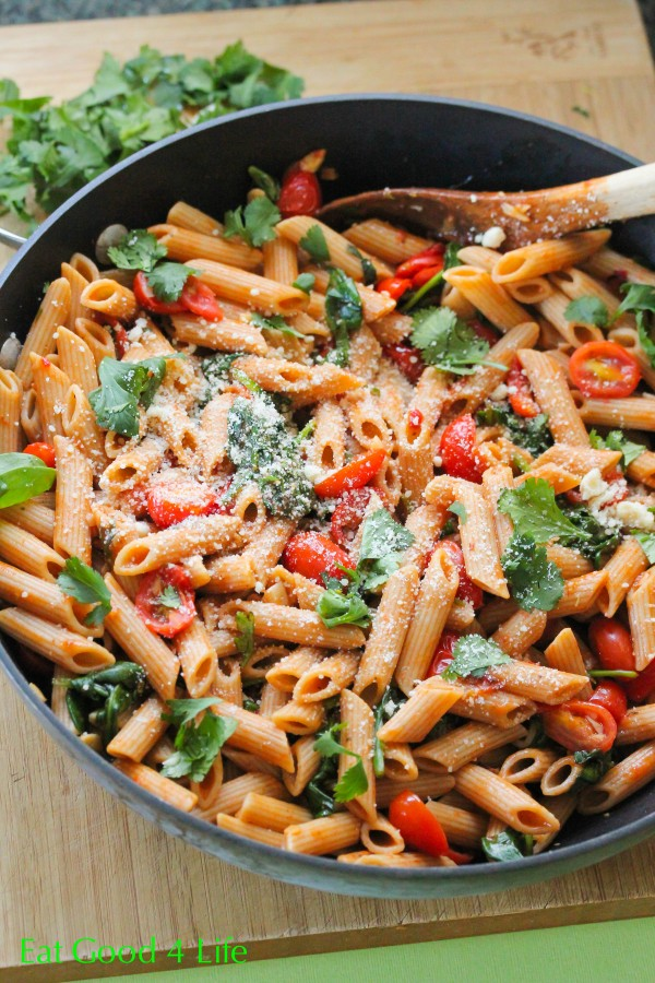 Fire roasted tomato pasta for Healthy and delicious dinner recipes